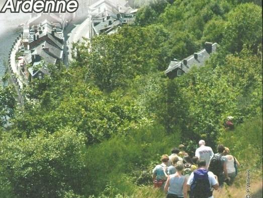 Carte de promenades de La Roche