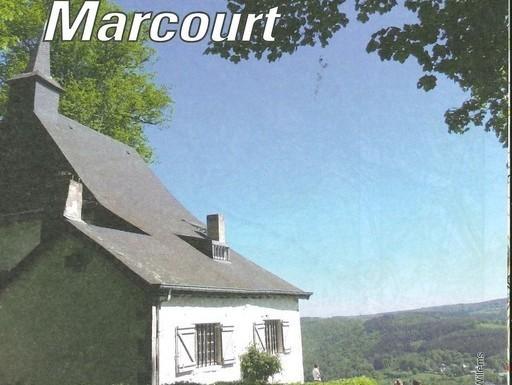 Carte de promenades Rendeux-Marcourt 1/25000