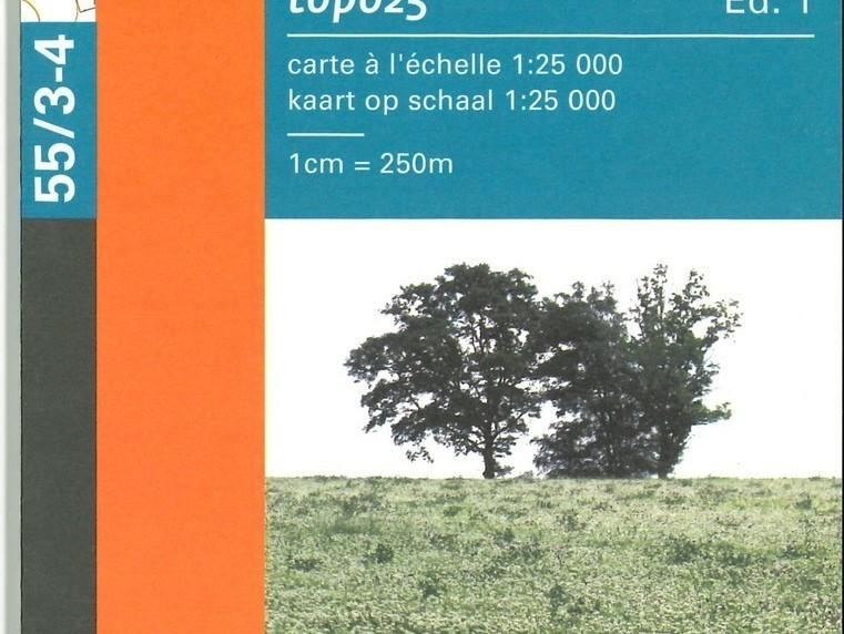 Carte de promenades de Lierneux