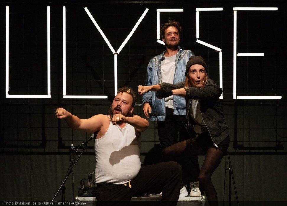 Saturday february 8 - Theater Show: L'Odyssée