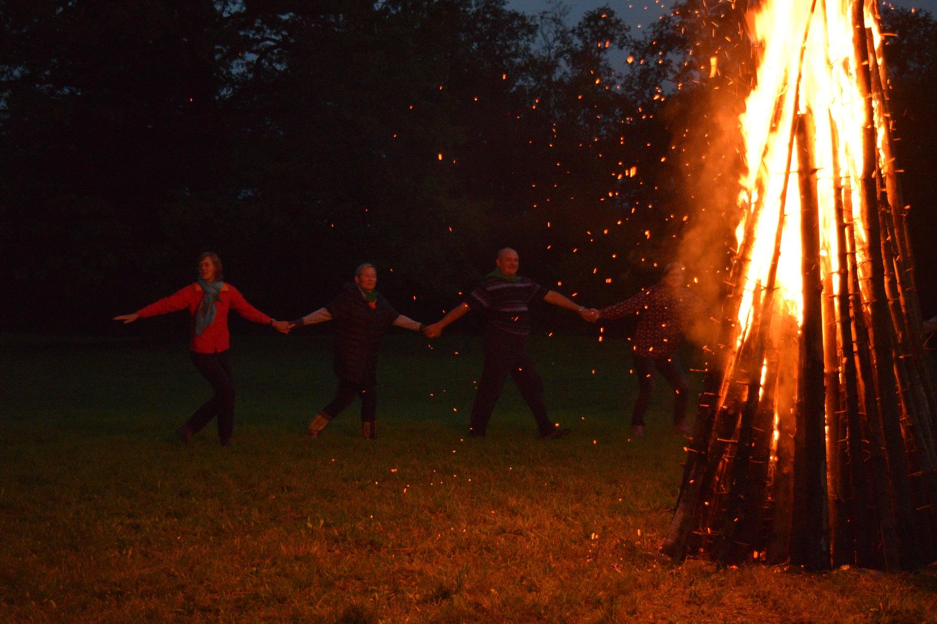 Saturday March 21 - Great fire in Bourdon