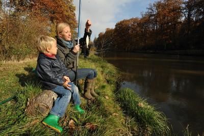 Donderdag 6 augustus - Vissen met je gezin