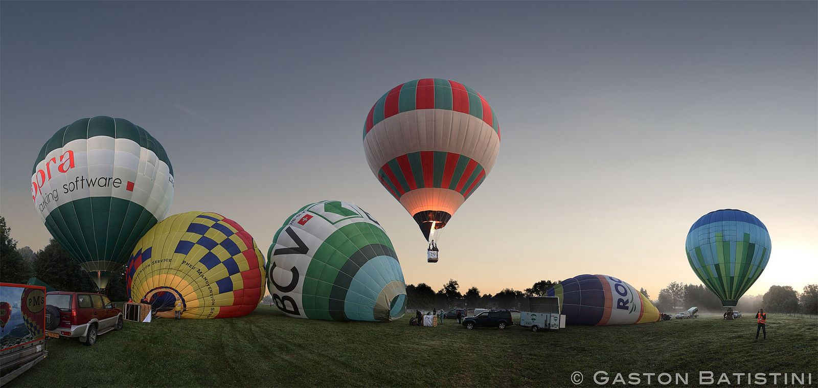 Weekend august 21-23 - Hottolfiades: 20th edition of the hot flying balloons